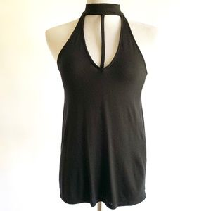 Express Women's Tank With Neck Detail XS NWOT